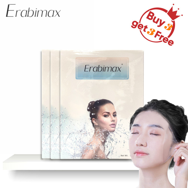 【Buy 3 Get 3 Free】Erabimax Moisturizing Facial Mask Skin Care Face Mask Collage Hydrogel for Day Night Care Hydration Repair