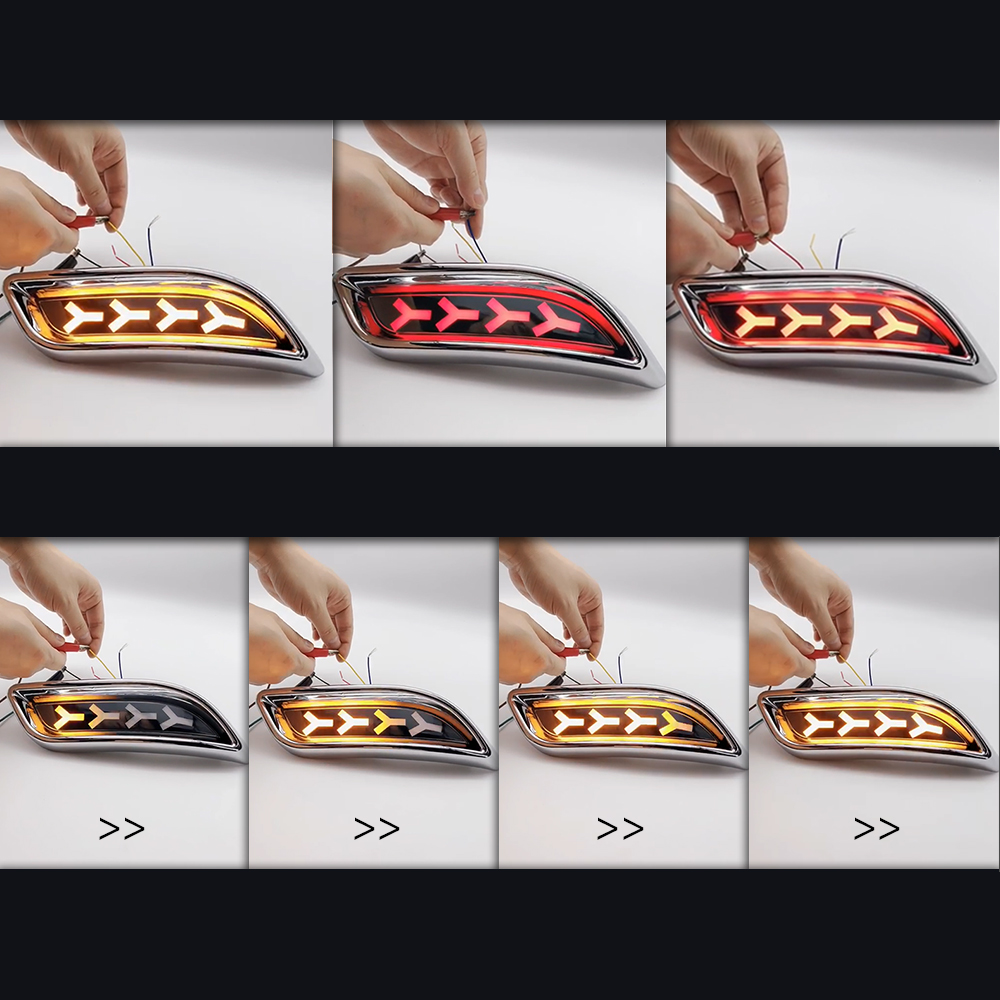 Купить с кэшбэком Auto Spare Parts for lada priora  LED Tail Light  Rear Fog Lamp Brake LightSUV 4WD Sedan Cars