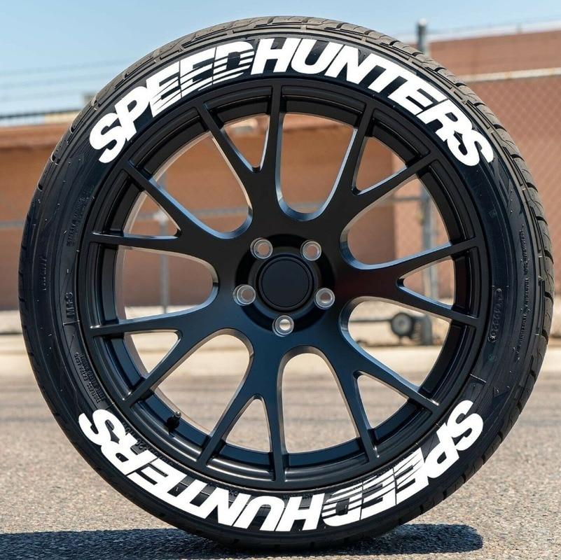 Decalques do pneu de carro estilo do carro permanente decoração do pneu de carro 3d pvc rotulação adesivos speedhunters pneu decalques adesivos para 4 pneus Adesivos para carro    -