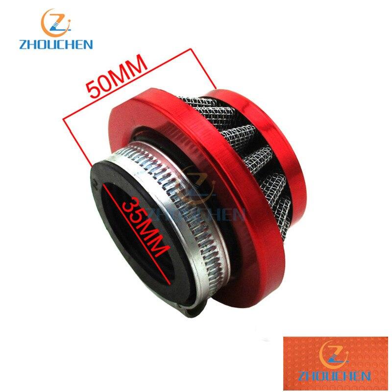 19mm carburateur carburateur 35mm filtre à Air rouge pour KTM50 KTM50SX KTM 50SX 50cc Junior vélo de saleté 2001-2017