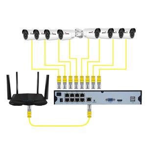 Image 5 - キーパー 8CH 4 2K ウルトラ HD POE ネットワークビデオセキュリティシステム 8MP H.265 + Nvr 8 個 8MP 全天候 IP カメラ CCTV セキュリティキット