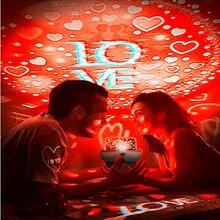 Милая проекционная лампа со звездным небом романтический светильник