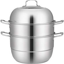 Pot Grill-Stove Steam-Cooker Gas-Electric-Induction Stainless-Steel Double-Boilder-Work