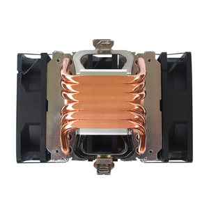 Image 5 - X79 X99 CPU cooler 4pin fan 115X 1366 2011 6 heatpipe dual tower cooling 9cm fan support Intel AMD RGB ARGB fans ryzen