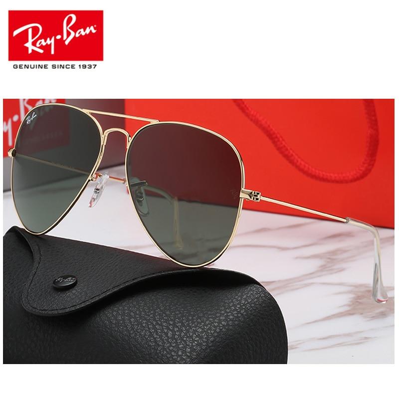 2019 Rayban RB3025 Polarized Sunglasses Men's RayBan Aviation Driving Shades Male Sun Glasses For Men Retro Women Gafas 3025