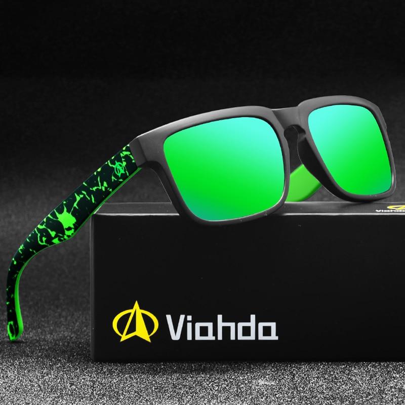 Viahda 2016 New Brand Squared Sunglasses The DIRECTOR Outdoor Glasses-Brand New