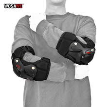 Elbow-Guard Motorcycle-Elbowpads Protective-Gear Motorbike MTB WOSAWE Upgrade Thicken