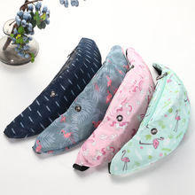 2019 New 3D Color Printing Waist Bags for Women Hip Belt Money Mountaineering Mobile Phone Packs
