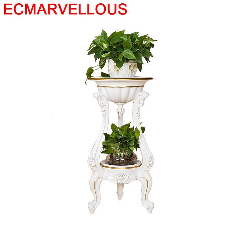 For Estanteria Para Plantas Plantenstandaard Indoor Balkon Terraza Outdoor Flower Rack Stojak Na Kwiaty Dekoration Plant Stand