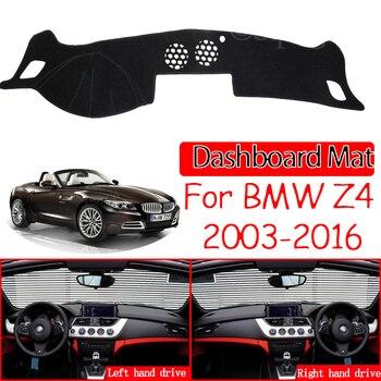 Pour BMW Z4 E85 E89 2003 ~ 2016 tapis anti-dérapant tableau de bord housse pare-soleil Dashmat tapis protéger accessoires 2006 2008 2009 2010