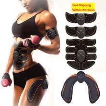 Estimulador muscular abdominal trainer quadril ems massagem abs músculos electrostimulator toner corpo exercício equipamentos de fitness em casa ginásio