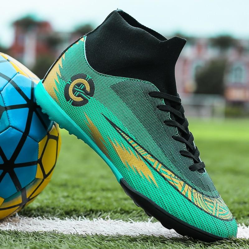 Superstar Sports-zapatos De Fútbol Antideslizantes Para Hombre, Zapatillas Transpirables Con Tobilleras, Para Sala De Estar