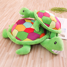 Lovely New 1pc 40cm-90cm Big Size Soft Colorful Tortoise Stuffed Plush Animal Toys Baby  Pillows Children Kids Gifts