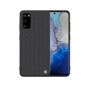 For Samsung Galaxy S20 Ultra S20+ 5G S10 S10+ Plus S10E Case NILLKIN Textured Nylon Fiber Durable Non-slip Back Cover for S10e(China)