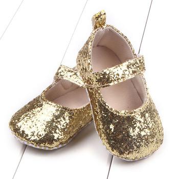 Małe dziewczynki piękne miękkie buty na co dzień niemowlę podeszwa szopka buty cekiny Sneaker dziecięce buty wygodne na wiosnę buciki dla niemowlat tanie i dobre opinie CN (pochodzenie) PŁÓTNO Błyskotka Wsuwane Stałe baby Buty do nauki chodzenia Dobrze pasuje do rozmiaru wybierz swój normalny rozmiar