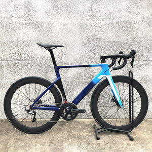 2020 carbon road DISC bike complete bicycle carbon BICICLETTA bicycle with bike group R8000 R7000 carbon wheels