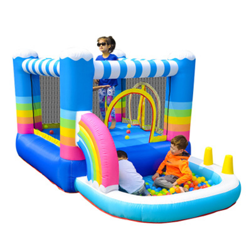 Kids Gift Inflatable Bounce House Castle Playground Outdoor Jumping Bouncy Trampoline Amusement Park Soft Play Equipment