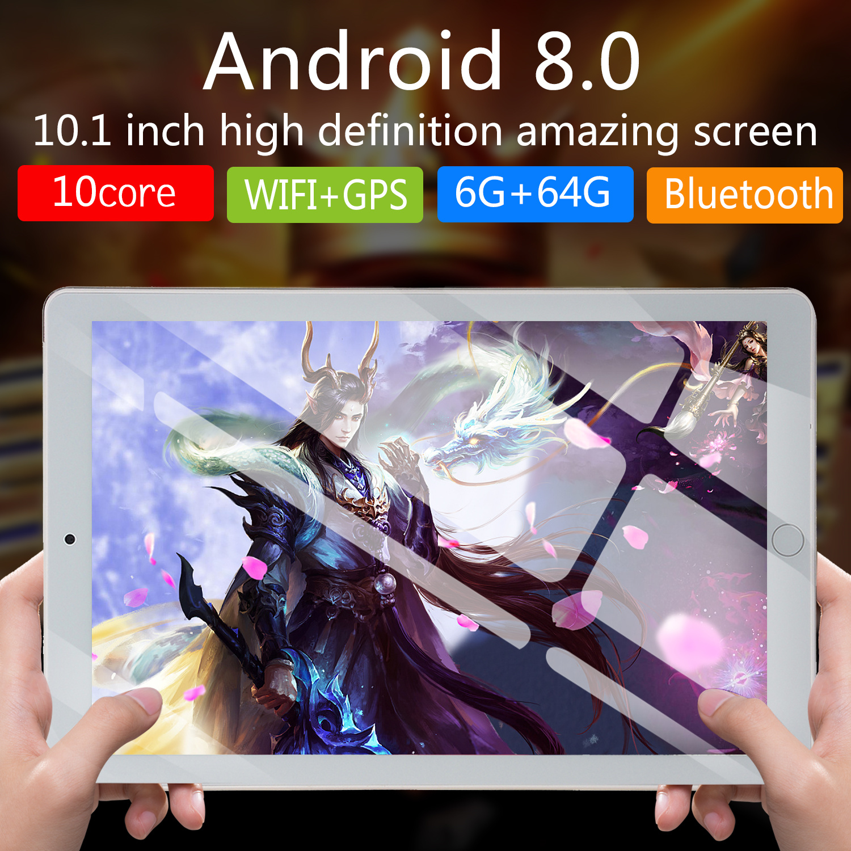 NEW 10 Inch Tablet Pc Octa Core 2020 Original Powerful Android 6GB RAM 64GB  Dual SIM Phone Call Tab Phone Pc Tablets