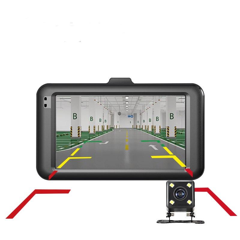 Двойной LensFull HD 1080P цифровой Камера 170 градусов Новый угол 3,0 дюймов портативный автомобильный DVR Камера T626 DVR Камера фара дальнего света, Detecto
