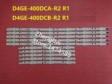 10 adet/takım LED arka ışık şeridi Samsung HG40AC690 UE40H6270 UE40H6500 UE40H5500 UE40H6200 UE40H5100 D4GE 400DCA 400DCB R2 R1