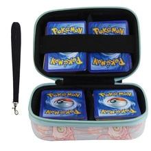 Может вмещать 400 шт. держатель для карт альбом Pokemon Box Gx Francaise держатель для карт для Pokemon держатель для карт Пикачу игра карты Книга