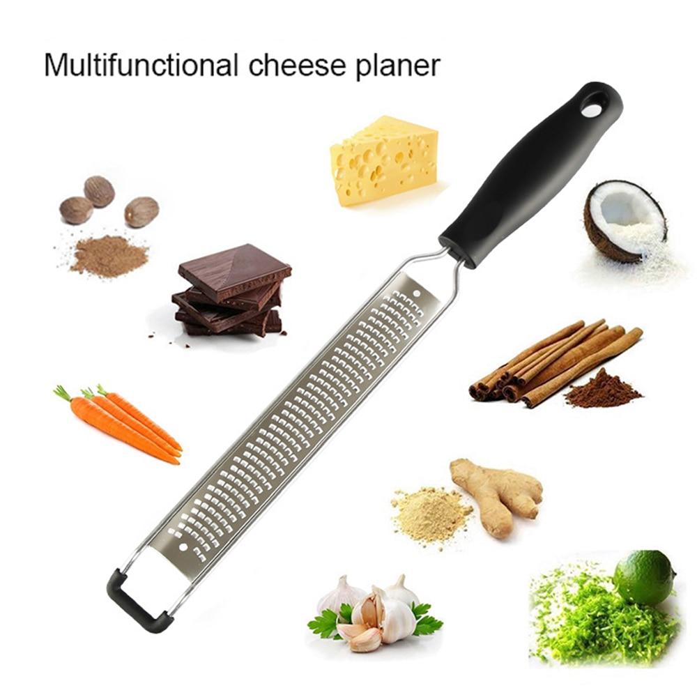 1Pc Grater Stainless Steel Cheese Planer Chocolate Planer Lemon Shaving Machine Fruit Shaving Scraper Kitchen Gadgets Accessory
