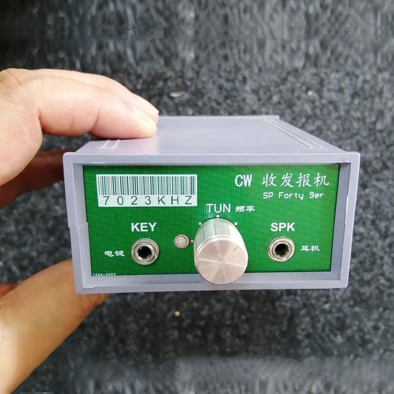 Forty-9er 3W Ham Radio CW Transceiver Kit Unfinished DIY 7023KHz-7026KHz Receiving CW SSB Signals