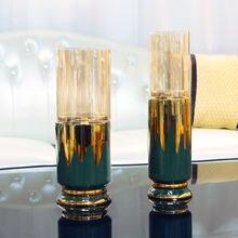 Европейский домашний подсвечник украшения для свечей роскошный