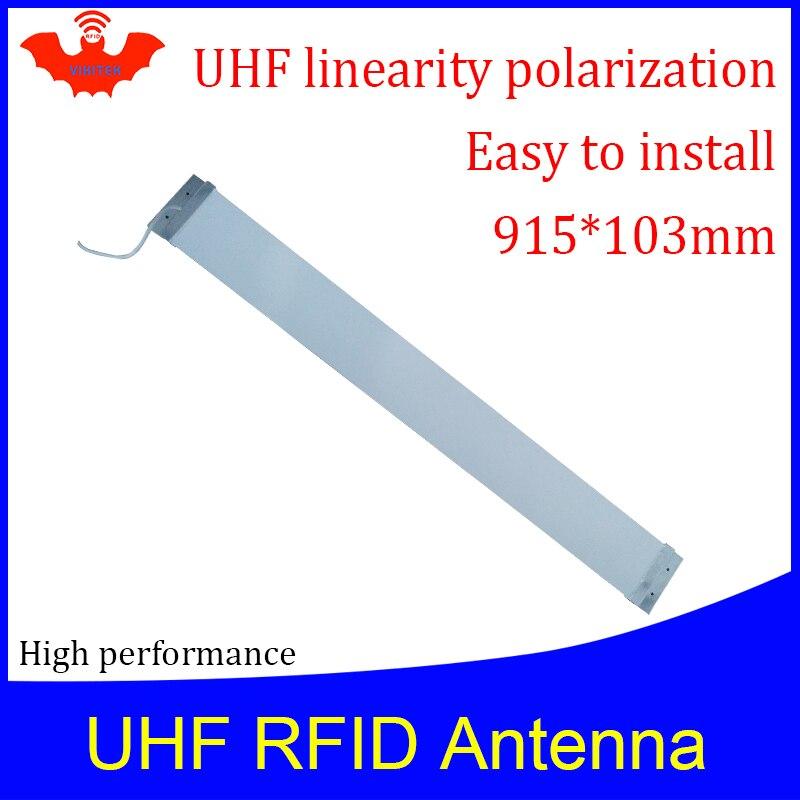 UHF RFID  Strip Thin Antenna Vikitek VA909 915MHZ Middle Range 920-925M Self-service Supermarket Doorframe Rfid Reader Antenna