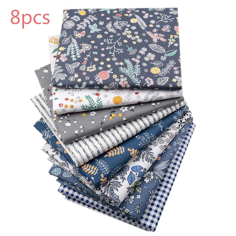 Patchwork yorgan kumaşı % 100% pamuk DIY malzeme 8 adet 50*40cm dikiş kumaş bebek çocuk