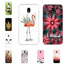 цена на For Samsung Galaxy J3 2016 J3 2017 Case Soft TPU Silicone Wild Wolf Patterned For Samsung Galaxy J5 2016 J5 2017 Cover Funda