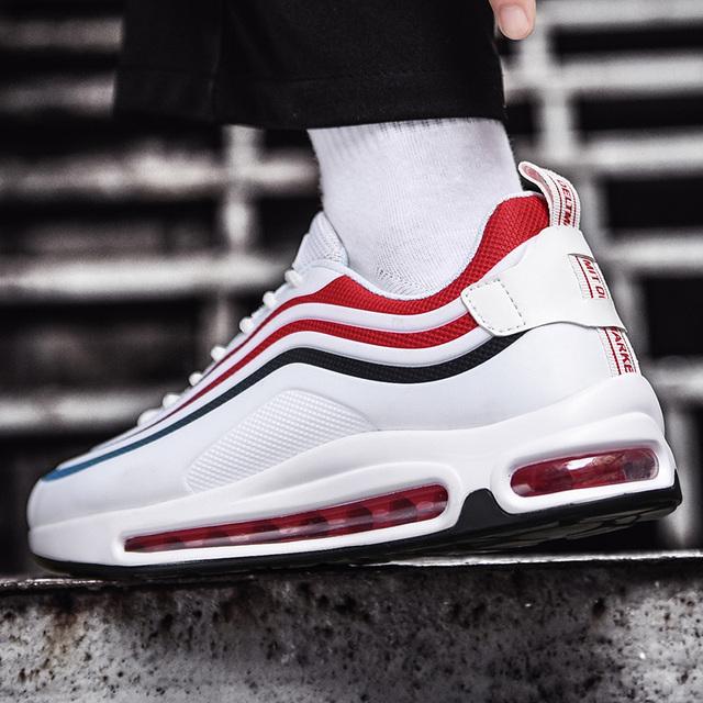 2019 New men's shoes, cushion shoes, casual shoes, men's sports shoes, dad shoes, breathable men's tennis shoes