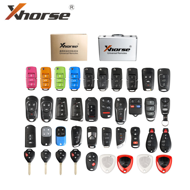 Xhorse Universal Remote Keys English Version Packages 39 Pieces for VVDI2 and VVDI Key Tool