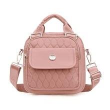 Новинка 2021 модные женские ручные сумки нейлоновая маленькая