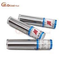 1mm,2mm,3mm,4mm,5mm,6mm,7mm,8mm,9mm,10mm Range 10Pcs Precision Pin Gauge,Smooth Plug Gauge Hole Gauge