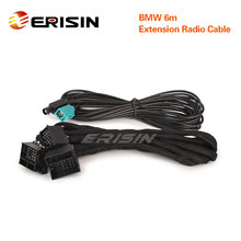 LMBM6 N for BMW 3er 5er X5 M3 M5 E46 E53 E39 E38 Blue & White 12 Pin Connectors 6m Extension Power Radio Cable Wiring Harness