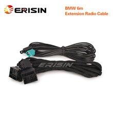 LMBM6 N para bmw 3er 5er x5 m3 m5 e46 e53 e39 e38 azul & branco 12 pinos conectores 6m extensão cabo de rádio potência cablagem
