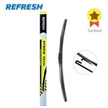 Refresh Hybrid Wisser Duurzaam Rubber Voor Toyota Corolla Camry Kia Sportage Hyundai Creta Fit Haak Armen Alleen-(pack Van 1)