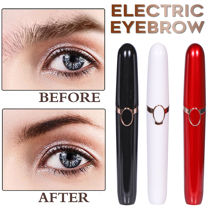 Electric Face Eyebrow Hair Remover Epilator Mini Eyebrow Shaver Razor Instant Painless Portable Epilator Shaving Eyebrow Trimmer