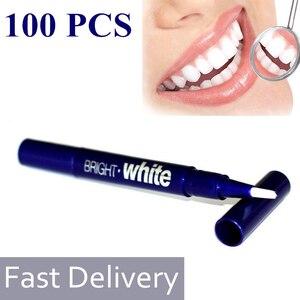 100/50/40Pcs Teeth Whitening Pen Dental Teeth Brighten Bleaching Gel 2.5ML Cleaning Pen Portable Tooth Care Whiten Products