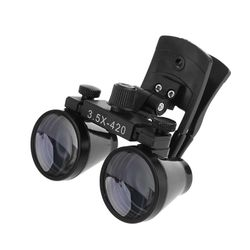 2.5X 3.5X Dental Loupe Binocular Magnifier Dentistry Clip Loupe