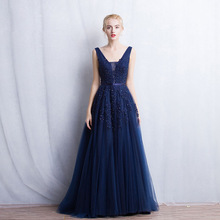 Elegant Womens Banquet Ball Gown Lady Bridesmaid Dresses Lon