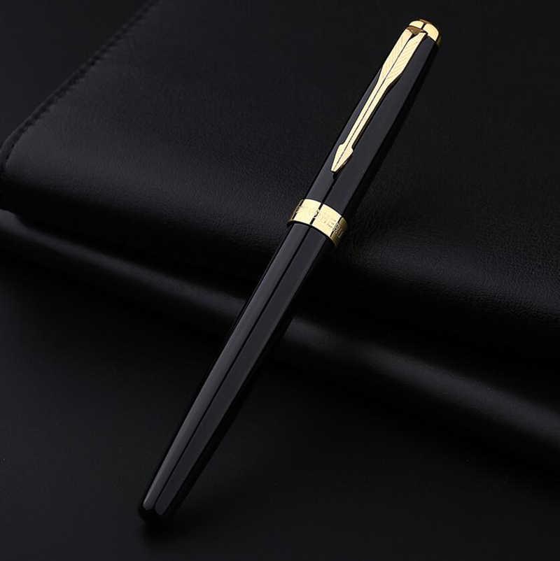 การออกแบบคลาสสิกHEROยี่ห้อSonnetโลหะลูกกลิ้งปากกาลูกลื่นLuxuryโรงเรียนนักเรียนเขียนปากกาซื้อ 2 ปากกาส่งของขวัญ