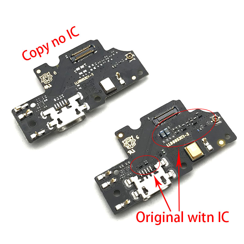 New For BQ Aquaris U2 Lite Dock Connector Micro USB Charger Charging Port Flex Cable Microphone Board