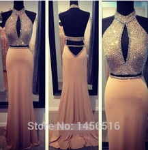 women formal dress vestido de renda 2014 new fashion sexy backless beading highneck party prom gown evening dress free shipping dress free shipping 2013 open leg custom size color sexy evening formal prom gown sweet beauty pageant ruffle dress new high low