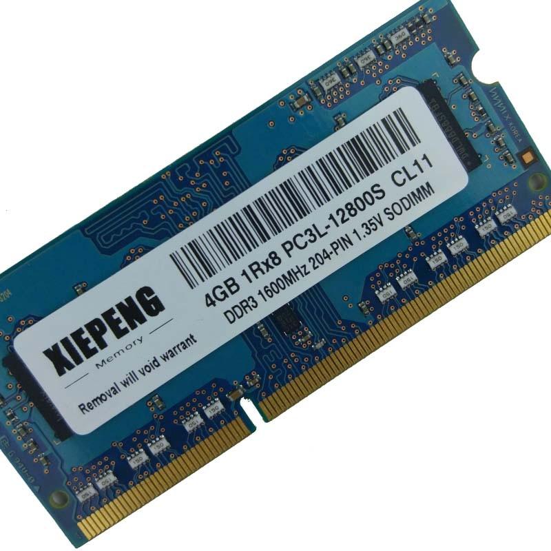 Dizüstü 4GB 1Rx8 PC3L-12800S SODIMM bellek 8G DDR3L 1600MHz RAM ASUS A4310-B1 A4110 ET2040INK ET2232IUK ET2230IUT all-in-One