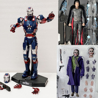 Avengers MMS195 Iron Man Action Figure Thor MMS474 Figure HC Movie Joker Action Figures Movable Model Toys