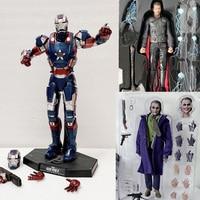 Avengers MMS195 Iron Man Action Figure Thor MMS474 Figure HC Movie Joker Action Figures Movable Model Toys
