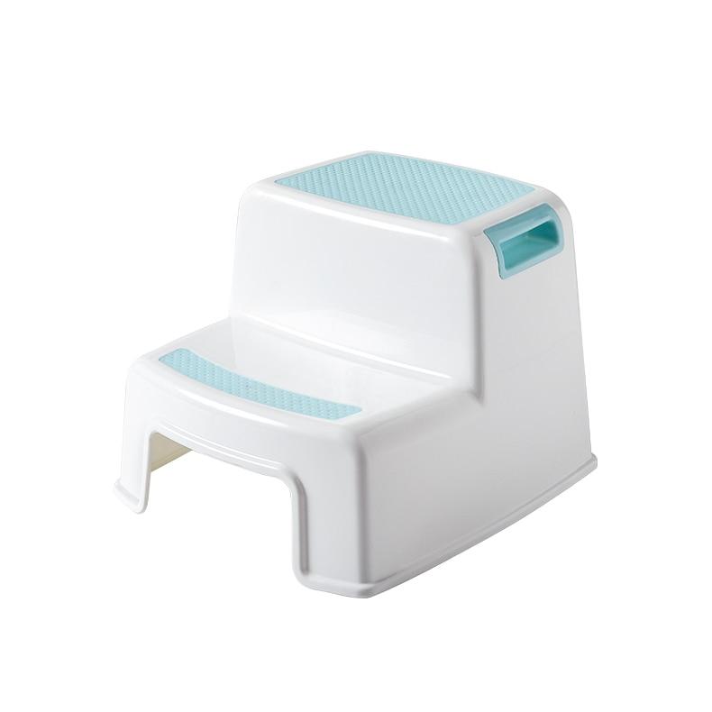 Children's Toilet Foot Step Stool Baby Wash Stool Step Kids Bathroom Non-slip Ascending Ladder Step Stool Chair