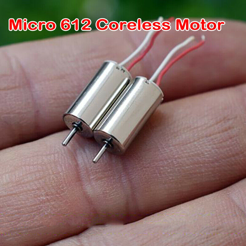 2PCS DC 7.4V 48000RPM Micro Mini 8523 Coreless Motor High Speed NdFeB RC Drone